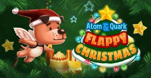 Dr. Atom & Quark Flappy Christmas