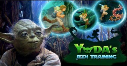 Star Wars Yoda's Jedi Training