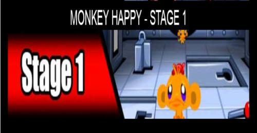 Monkey Happy Stage 1