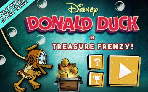 Donald Duck in Treasure Frenzy