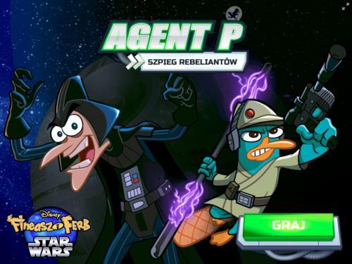 Fineasz i Ferb Star Wars: Agent P Szpieg Rebeliantów