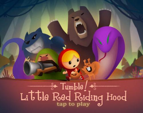 Tumble Little Red Riding Hood