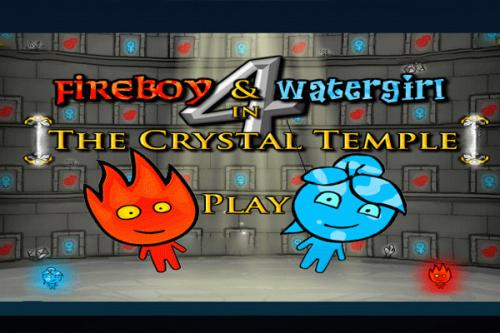 Fireboy and Water Girl 4 in The Crystal Temple