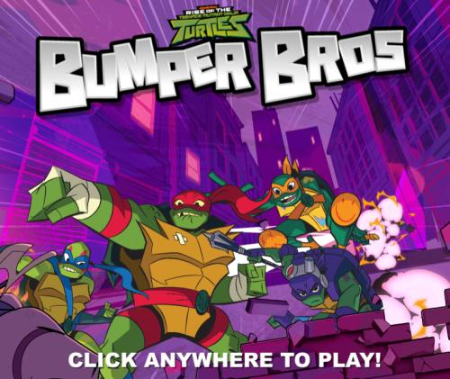 Rise of the TMNT Bumper Bros