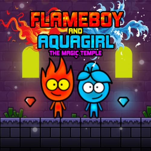 Flameboy and Aquagirl The Magic Temple
